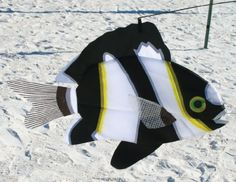 Humbug Damsel! :3  Swimming Zebra Fish Outdoor Lawn Decoration Accent Home and Garden,http://smile.amazon.com/dp/B001MA6RYK/ref=cm_sw_r_pi_dp_bfhptb0HYA497YM9