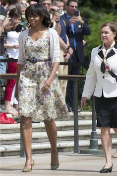 Michelle Obama Style - Fashion and Beauty Pictures of Michelle Obama - Elle