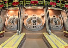 A photograph of the game Skee Ball at Hampton Beach in New Hampshire. Skee Ball, New England Day Trips, Hampton Beach Nh, Us Vacation Spots, Places Ive Been, Places To Go, D 40, Girls Weekend, Ol Days