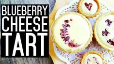Cheese Tarts, Camembert Cheese, Blueberry Cheese Tart Recipe, Humble Pie, Shortcrust Pastry, Cookie Pie, Tart Recipes, Food Festival, Quiche