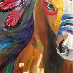 """""""Indian Pony"""" Design for sale. Items like shirts, bags, phone cases, wall art, pillow and mugs are available with this design."""