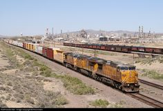RailPictures.Net Photo: UP 6748 Union Pacific GE AC4400CW at Sinclair, Wyoming by Rick Erben