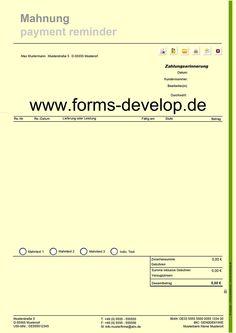 kassenabrechnung kassenbuch kassenbericht pdf formular din a4h web shop 4 interactive. Black Bedroom Furniture Sets. Home Design Ideas