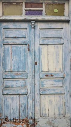 #Blue #Door #Textures #CaminoDeSantiagoDeCompostela #Spain