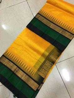 Over - Kanjivaram / Saree Store: Fashion Blue Silk Saree, Kanjivaram Sarees Silk, Cotton Saree Blouse, Bridal Silk Saree, Indian Silk Sarees, Organza Saree, Kanchipuram Saree, Soft Silk Sarees, Yellow Saree