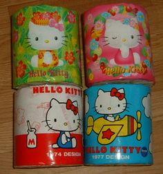 Hello Kitty toilet paper