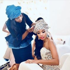 shweshwe dresses 2020 can try ⋆ African Fashion Ankara, African Dress, African Wedding Attire, Shweshwe Dresses, Short Gowns, Bridal Pictures, White Gowns, Blue Lace, New Outfits