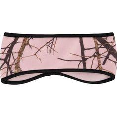 Paramount Outdoors Ladies' Mossy Oak Pink Camo Fleece Headband - walmart
