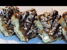 Gluten Free Samoa Bars