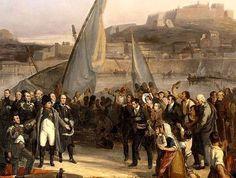 Joseph Beaume, Napoleone saluta gli elbani