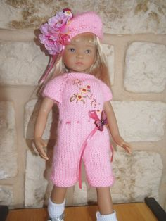 Handknitted OUTFIT for LITTLE DARLING dianna effner  doll - 13 inches in Dolls & Bears, Dolls, By Brand, Company, Character, Other Brand & Character Dolls | eBay