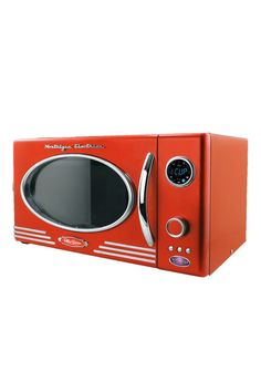 Retro Microwave. So we definitely JUST got this in today at HomeGoods. This is so funny it just popped up on my feed!