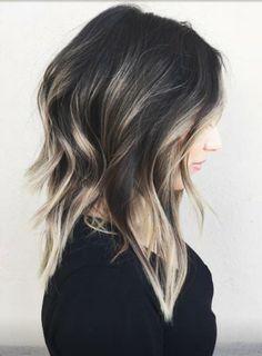 dark hair highlights