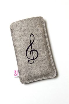 Smartphone case felt CLEF  custom phone cover with by StudioBIG, €17.50