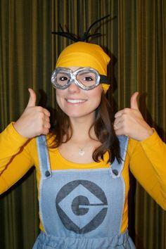 Made by Carlijn: #DIY: Despicable me (Verschrikkelijke ikke) Minion Costume!