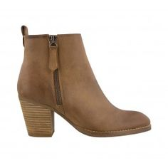 Flat Boots | High Heel Boots | Brown Leather Boots