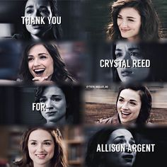 #CrystalReed #AllisonArgent #TW