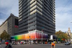 studio505 fabricates the strand façade in melbourne CBD, australia - designboom | architecture
