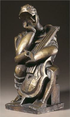 The Composer by Ossip Zadkine