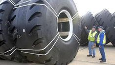 Heavy Extreme Modern Technology Biggest Truck Tire Install Equipment Machines Awesome
