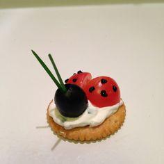 Ladybug Appetizers (vegan)