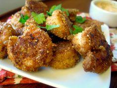 Quick Crispy Old Bay Shrimp Appetizer - 4 Points Plus per serving