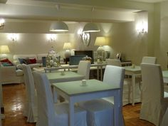 Dining room. Comedor #hotel Central #Gijon #Asturias #Spain www.hotelcentralasturias.com