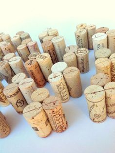 DIY Place Card Holders, Made from Upcycled Wine Corks, Set of 50 for DIY Wedding, Bridal Shower, Rustic, Winery Vineyard Wedding