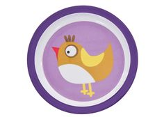 Sebra melamin tallerken pige - Tinga Tango Designbutik - Interiørbutik - Interior - Children - Børn - Toys - Legetøj - Brugskunst - Design - Kunst - Webshop - Billig fragt - illustrationer - porcelæn - keramik - Purple - Lilla - Tinga Tango Designshop. Interior Shop - Interior - Children - Children - Toys - Toys - Boutique - Design - Art - Webshop - Cheap Shipping