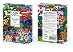 Packaging / Woshi Woshi - The Dieline — Designspiration