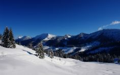 The Nature of Photographs: Snowy Alps Wallpaper Winter Nature.