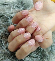 完成别人的期望﹉ 是我往前的动力﹉♡ #naildesign #nailstagram #nailart #nailporn #nails #glassnails #linenails #simplenail