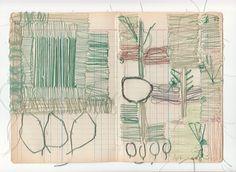 sharon etgar threads drawing on paper