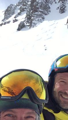 We are not good at selfies.but our turns went good. Ski Touring, Alps, Bicycle Helmet, Selfies, Skiing, Ski, Cycling Helmet, Selfie
