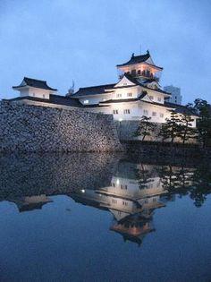 Toyama Castle: Amazing Reflection