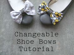 Buy the flats, make the bow, change it up!