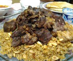 الكبسة السعودية باللحم