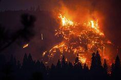 14 Powerful Photos Of California's Massive Rim Fire