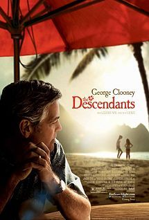 the descendants, staring george clooney