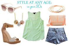 Style At Any Age: Muted Neon Tank in your 20s | Taim Boutique