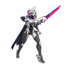 Riot Games Merch | PROJECT: Fiora Action Figure - Figures - Collectibles