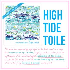 I never thought of wearing a day at the beach!  Great job @LillyPulitzer!