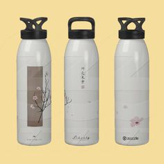 SpringTime. There's nothing quite so beautiful as cherry blossoms in spring. Digitally hand-drawn artwork. The chinese symbols mean Opposition, Fire, Tree and Paintbrush. The red symbol is what I use as my signature and means Panda.    Water Bottle: http://www.zazzle.com/springtime_waterbottle_liberty_bottle-126111978380220668?gl=VPanda=238801568369323051