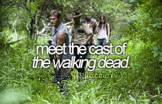 The Walking Dead cast, i thought you'd like this one sweetie<3