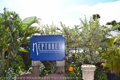 Neptunes- Seafood and casual dining. Their signature dish is the shrimp burger!!!