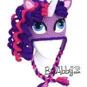 Crochet Unicorn / Pony Hat - via @Craftsy Lena - Imagine Lily with this!!!