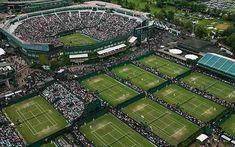 Wimbledon from a bird's eye view!