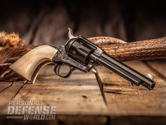 Using a Single-Action Revolver for Self Defense Colt Single Action Army, Single Action Revolvers, Gun Holster, Holsters, Revolver Rifle, Henry Rifles, Cowboy Action Shooting, Cowboy Pictures, Lever Action