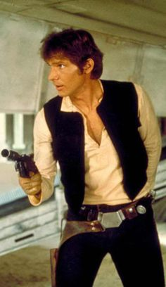 Star Wars was the most magical movie experience of my childhood. I'm sure I still secretly wish I was Han Solo