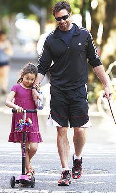 Hugh Jackman and Ava